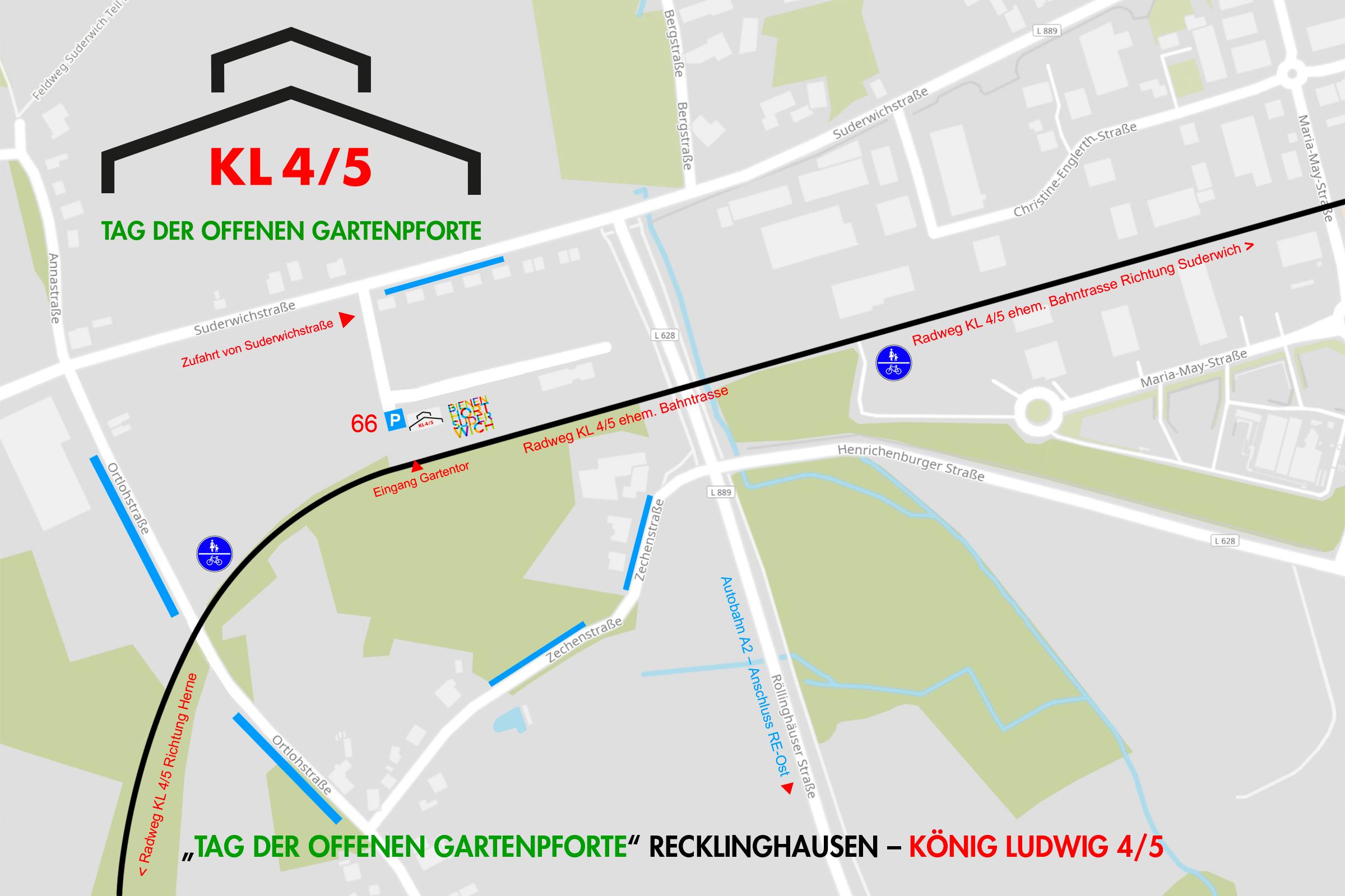 Lageplan König Ludwig 4/5 KLT