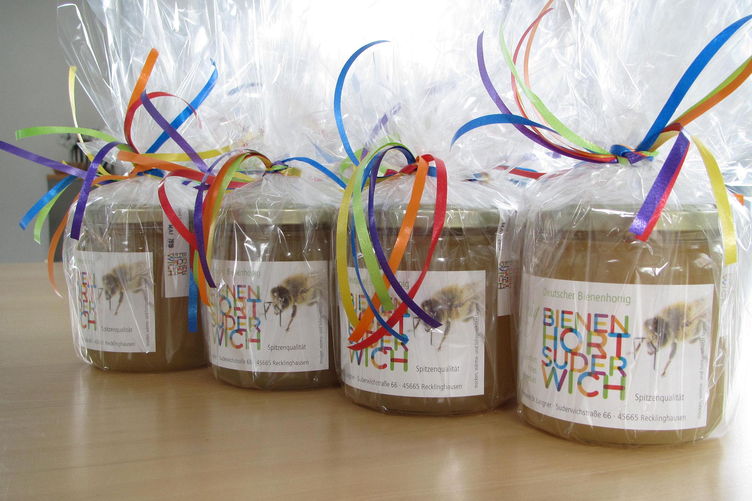 Honig aus der Imkerei Bienenhort Suderwich in Recklinghausen