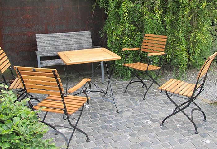 Tag der Offenen Gartenpforte Recklinghausen Sitzplatz